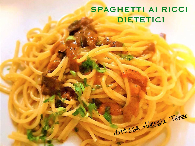 spaghetti ai ricci dietetici